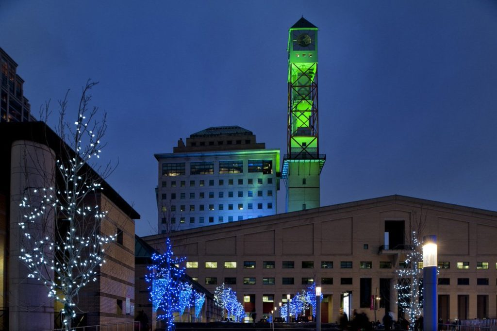 Civic Centre Clock Tower, Mississauga, ON