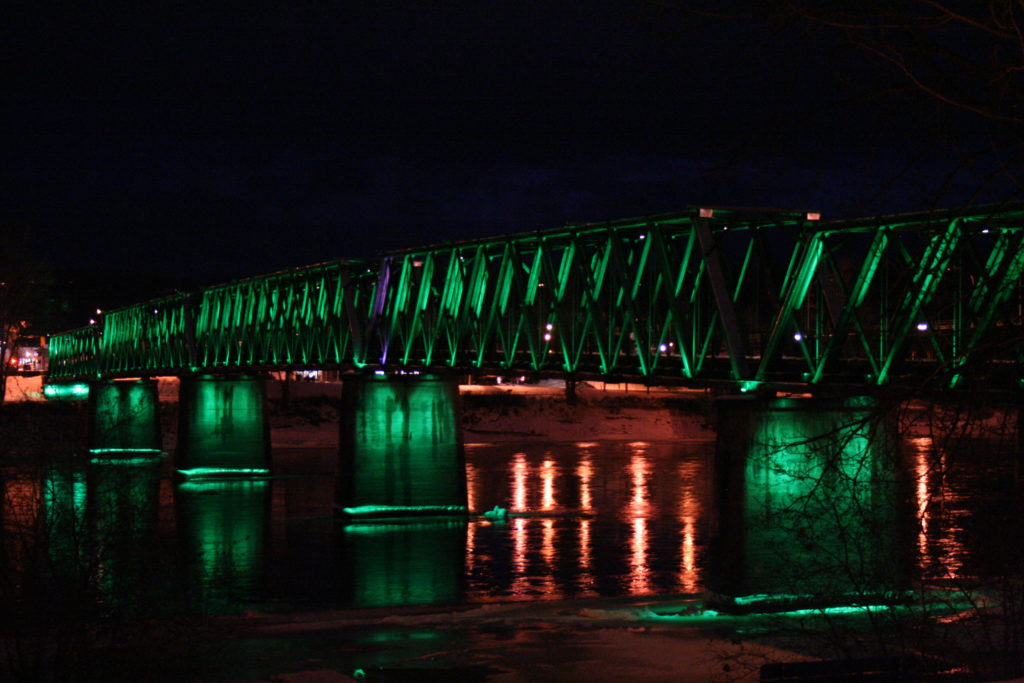 Fraser River Walking Bridge, Quesnel, BC