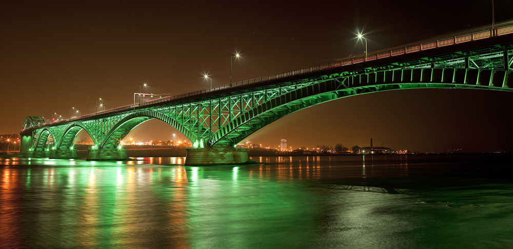 Peace Bridge, Fort Erie, ON