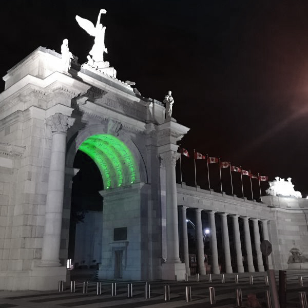 Prince's Gates Arch at Exhibition Place, Toronto, ON