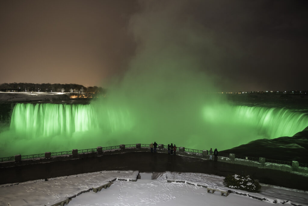 Niagara Falls, Niagara Falls, ON - Courtesy of Philips Lighting