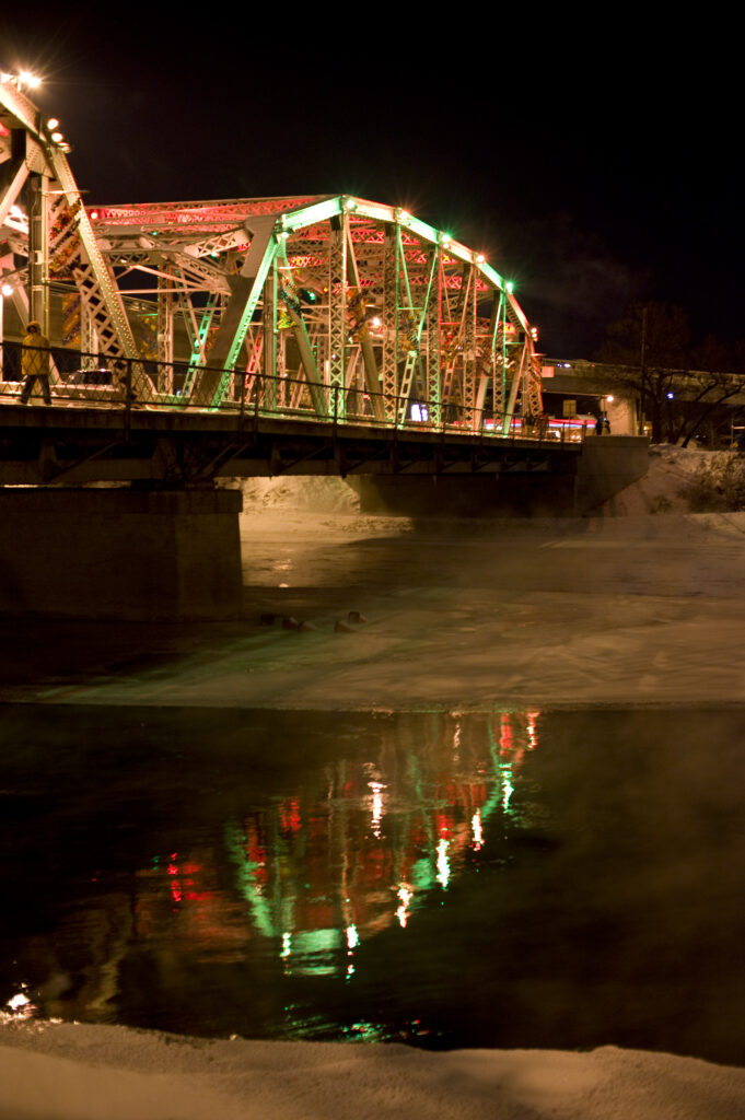 Reconciliation Bridge, Calgary, AB - Courtesy of Calgary Municipal Lands Corporation